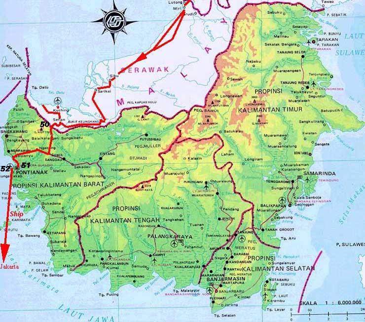 Travel Pontianak ke Kuching Malaysia